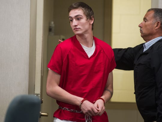 Jordan Paul, 21, appears in Vermont Superior Court