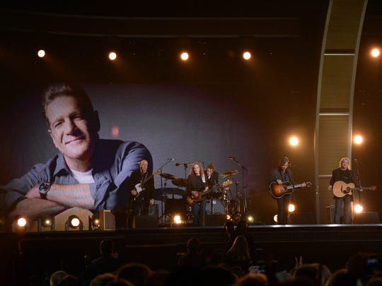 Jackson Browne and members of Eagles pay tribute to