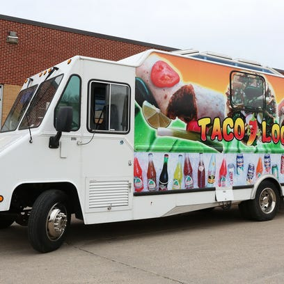 The Taco Loco food truck will be one of 23 parked at