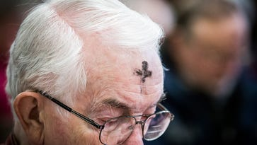 PHOTOS: Ash Wednesday service at High Street United Methodist Church