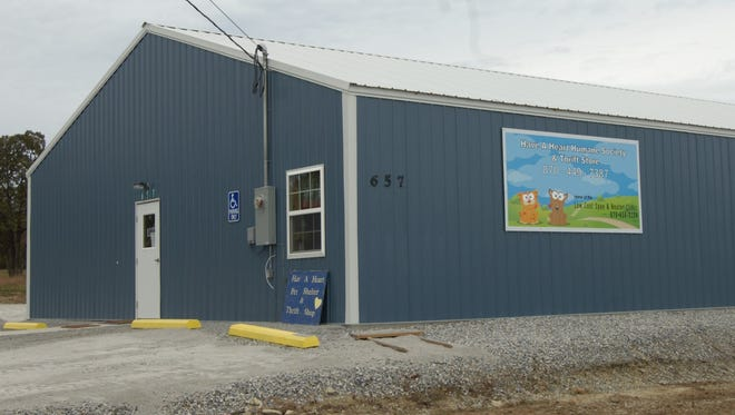 The Have A Heart Humane Society is located at 657 Hwy. 202 West in the Yellville Industrial Park.