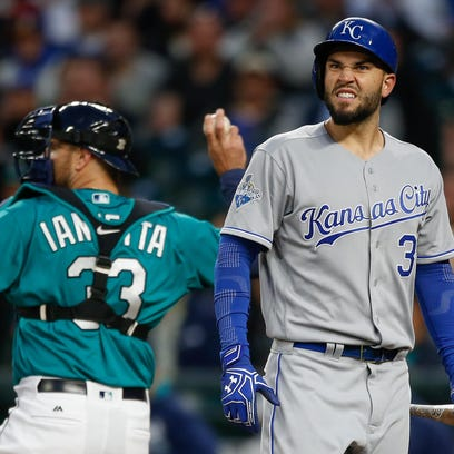 First baseman Eric Hosmer is one of the few Royals