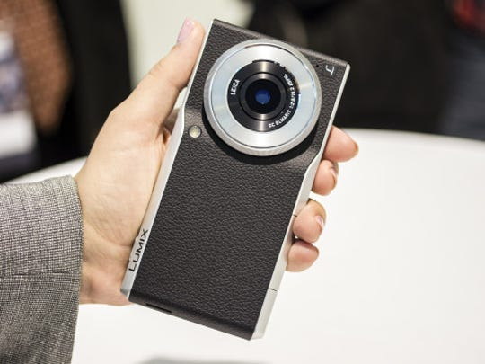 It's a camera. It's a phone. It's both. The Panasonic CM1 will be coming stateside this summer.