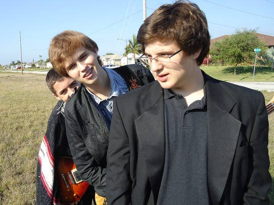 The members of Nothing Serious are (from left) Thomas