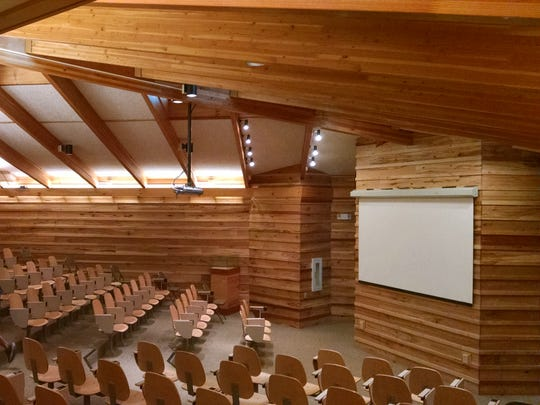 A 90-seat indoor auditorium is part of the former Johnny Appleseed Heritage Center.
