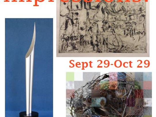 """The Riverfront Arts Center will host the exhibit """"Impressions"""""""