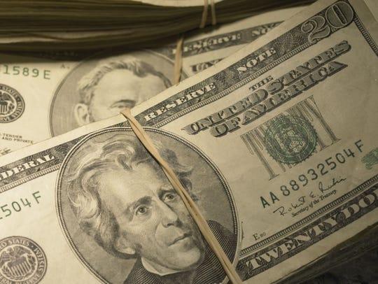 The three defendants used falsified U.S. currency.
