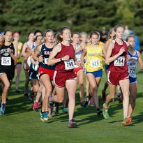 Area school's cross country teams compete at the Fond du Lac invite, held at Rolling Meadows Golf Course. Friday October 2, 2015.
