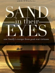 """""""Sand in their Eyes"""" book cover"""
