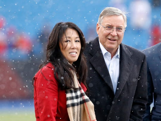 Terry Pegula said Wednesday that discussions about a new stadium for the Bills are non-existent at this point.