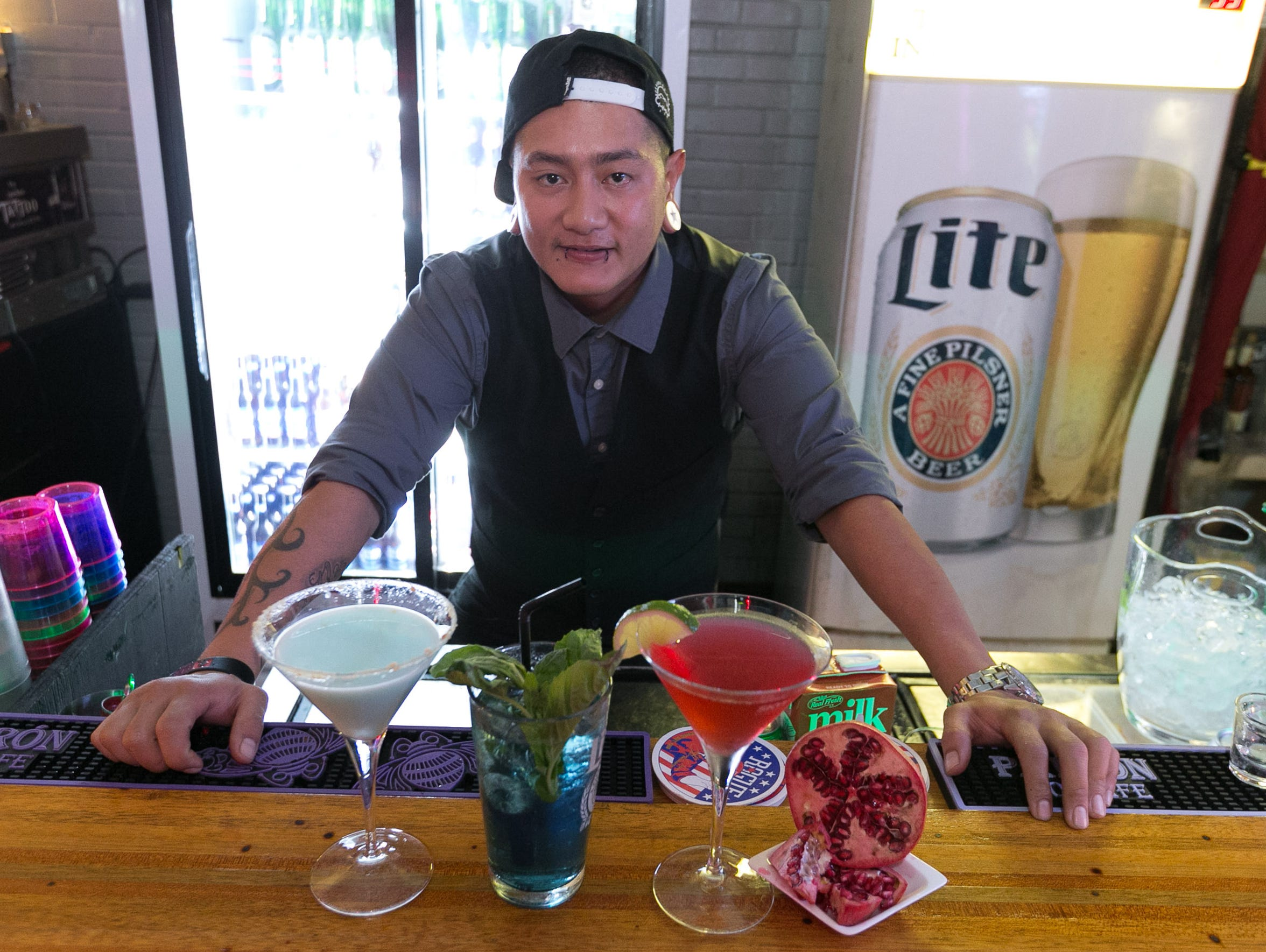 Tommy Manglona wins best bartender.