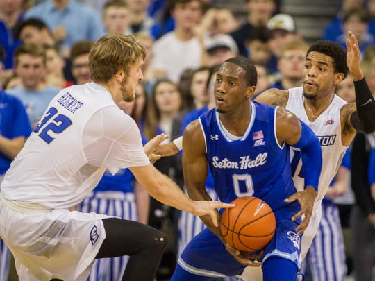 Creighton will be ranked for Wednesday's game at Seton