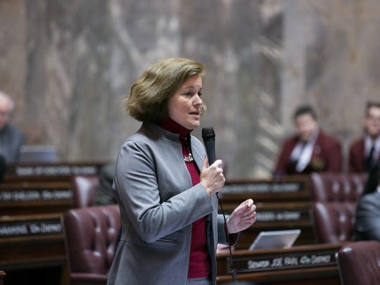 Before being elected to the Legislature, Christine Rolfes served as a Bainbridge Island city councilwoman.