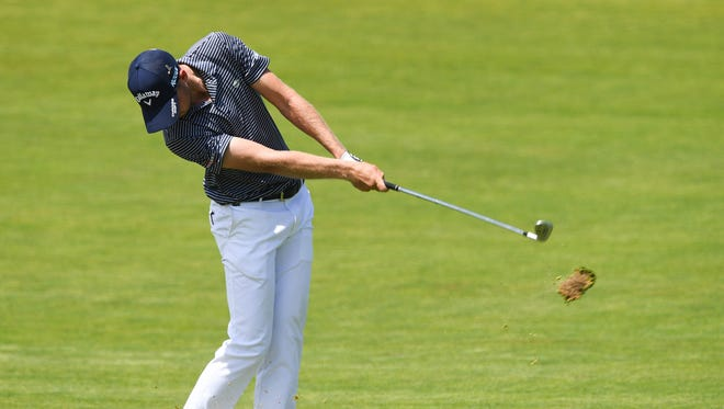 Daniel Berger is one of four players in a tie for first in the U.S. Open.