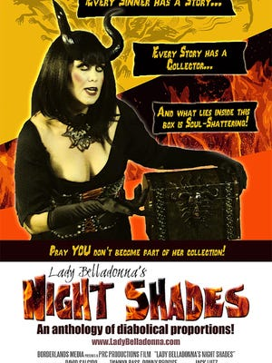"""""""Lady Belladonna's Night Shades,"""" a feature length anthology of works by Southern New Mexico filmmakers, will be available on DVD and video on demand on Tuesday, according to a release."""