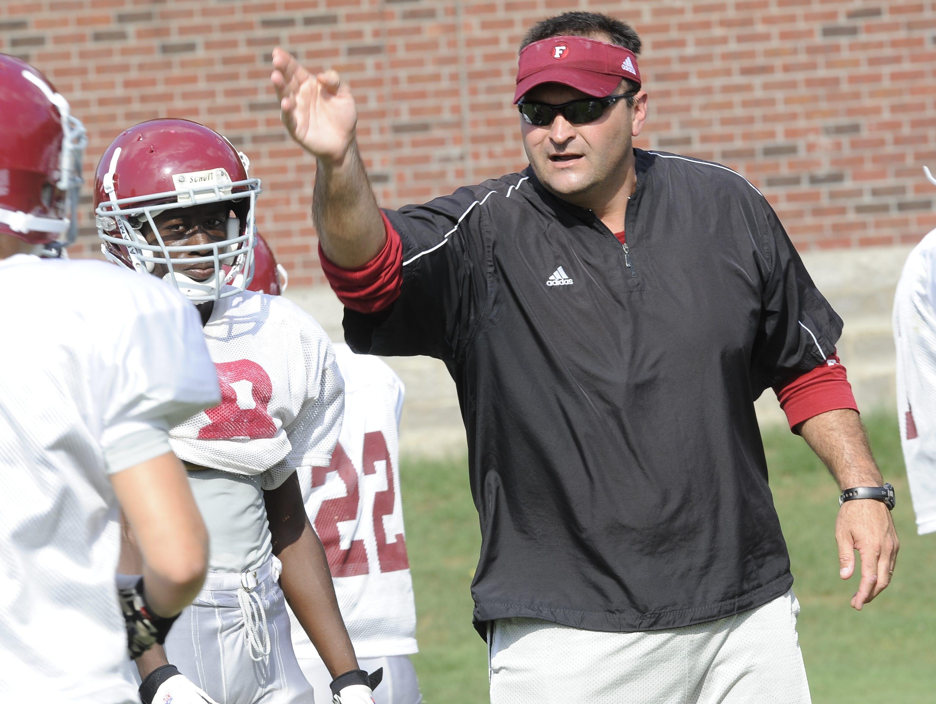 Franklin coach Donnie Webb