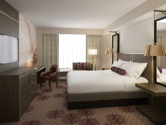 New guestrooms at the Eldorado Casino Resort