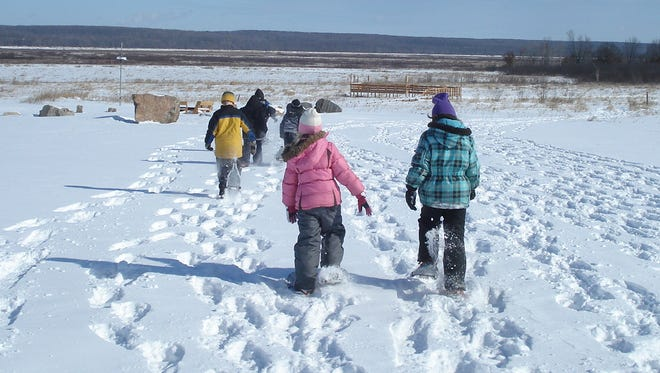 Enjoy a snowshoe hike from 12:30 p.m. to 3 p.m. Feb. 7 at the Mead Wildlife Area, Milladore.