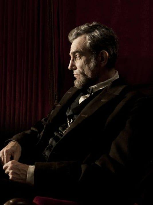 Daniel Day-Lewis portrays President Abraham Lincoln in Steven Spielberg's 'Lincoln.' (AP PHOTO/DREAMWORKS)