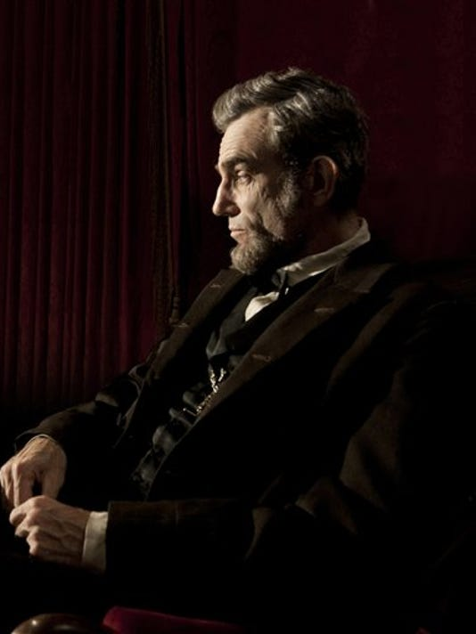 Daniel Day-Lewis portrays President Abraham Lincoln in Steven Spielberg's 'Lincoln.' (AP PHOTO/DREAMWORKS)