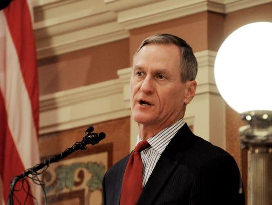 South Dakota Gov. Dennis Daugaard proposed raising