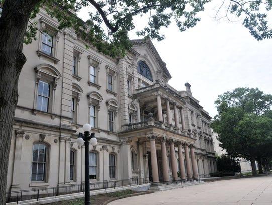 The State House in Trenton. The Legislature has passed