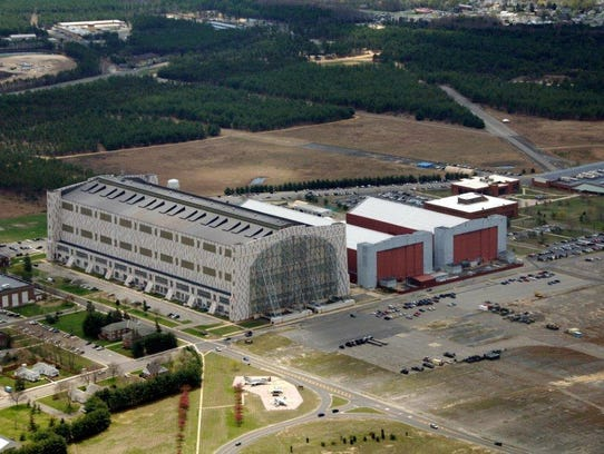 The old Naval Air Station Lakehurst section of Joint