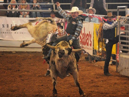 Bull riders will compete for thousands of dollars of
