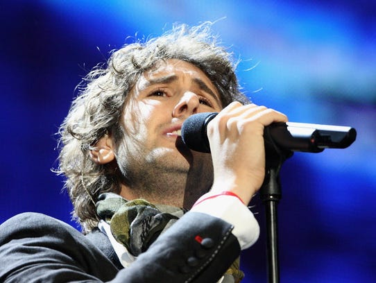 Josh Groban is coming to the new Bucks arena Nov. 3.