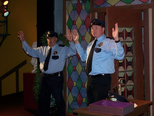"""A scene from Cultural Park Theater's """"Arsenic and Old"""