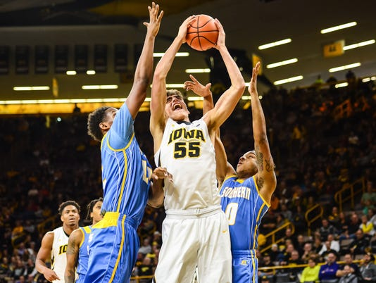 NCAA Basketball: Southern at Iowa