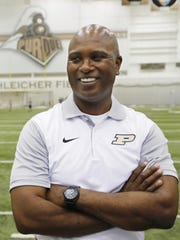 Purdue coach Darrell Hazell is set to begin his third season. The Boilermakers are 4-20 in Hazell's first two years.