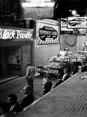Nashvilles Alleys A Long Winding History
