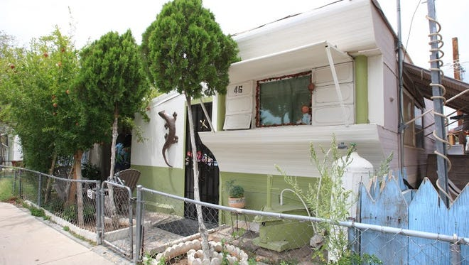 More than 100 families live at the Mesa Royale mobile-home park with many of the units dating to the 1950s and '60s.