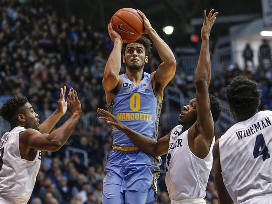 Marquette guard Markus Howard figures to be in the