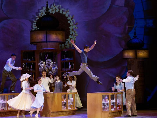 """An American in Paris"" received 12 Tony nominations,"