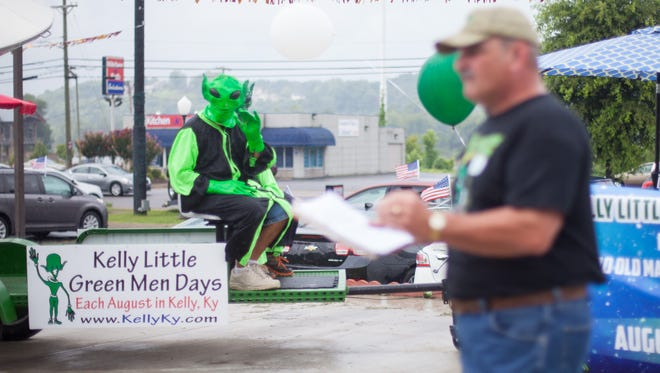 Kelly, Kentucky's, Little Green Man festival will have a raffle giveaway of a  2007 Mitsubishi Eclipse at the event in August from the 18th through the 21st.