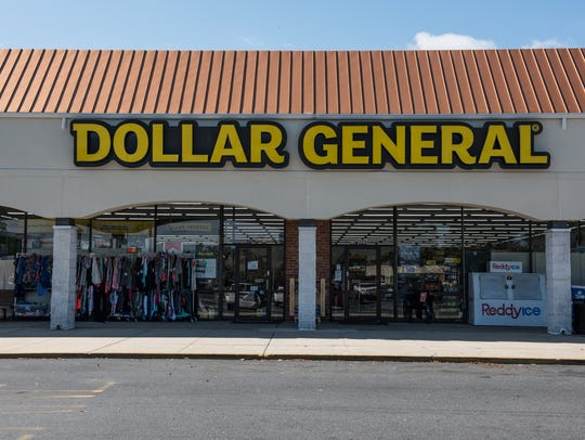 An exterior view of the Dollar General at the Twilley