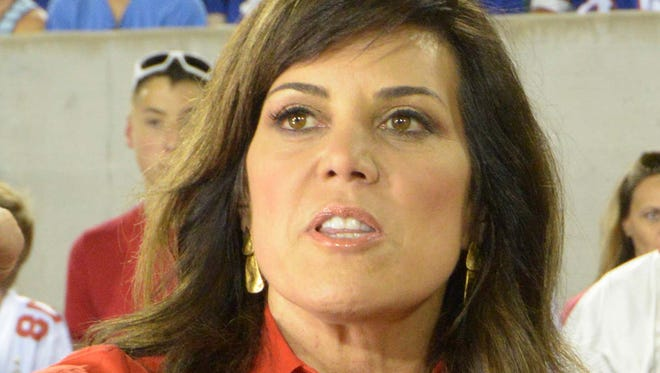 Michele Tafoya will head back to the U.S. after Olympic swimming is complete to cover NFL games for NBC.