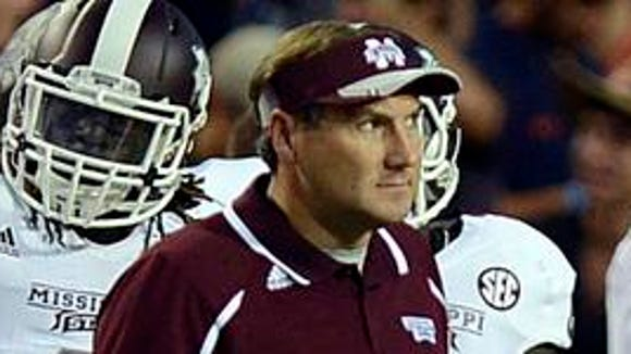 Mississippi State coach Dan Mullen will lead the No.