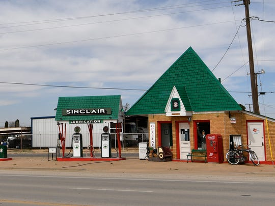 The HC Sinclair gas station at 701 Coliseum Dr. in