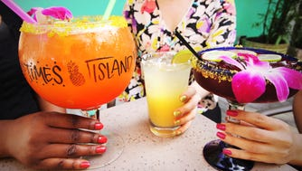 Bahama Breeze is offering a collection of margarita-inspired nail polish colors: Hot for Hibiscus; (Blood) Orange Ya Thirsty?!; and On the Rocks, a lime color inspired by the restaurant's Classic Margarita. A limited quantity will be available at www.sophinailpolish.com , as well as at restaurants.