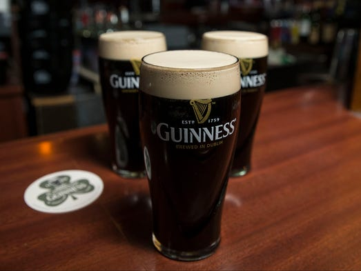 Kelly's Tavern offers a perfectly poured Guinness.