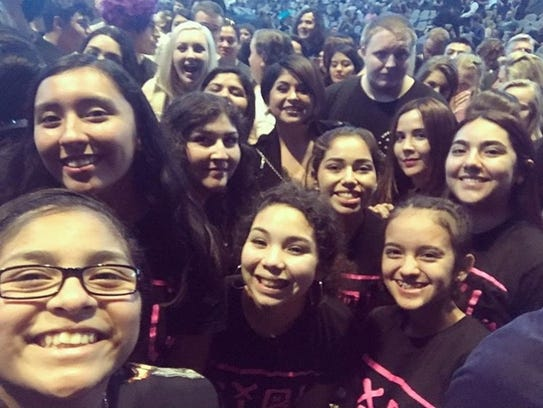 Members of the Chicas Rock Music Camp made a trip to