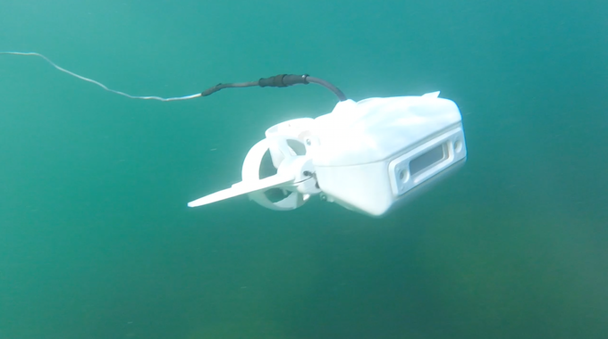The Fathom One Is An Underwater Drone With High Definition Camera. (Photo:  Fathom)