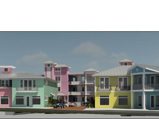 A developer wants to build on a vacant 1.2-acre site at 43 and 55 S.E. Seminole St. in downtown Stuart.