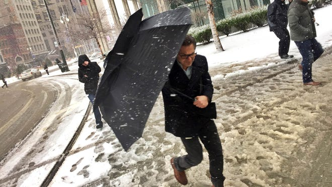 Detroiters should brace themselves for more snow on the way in April.