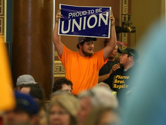 Collective bargaining hearing