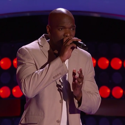 """Staff Sgt. Jeremy Gaynor's performance of """"Superstar"""" on Tuesday night's """"The Voice"""" earned him a spot on judge Christina Aguilera's team for the coming season of the NBC reality show."""