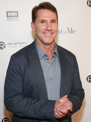 "Novelist and Screenwriter Nicholas Sparks attends ""The Best of Me"" screening at the CMA Theater at the Country Music Hall of Fame and Museum on October 9, 2014 in Nashville, Tennessee."